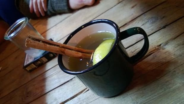 A photo of a hot toddy