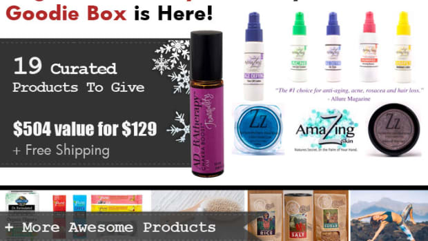 Organic Authority 2015 Holiday Goodie Box