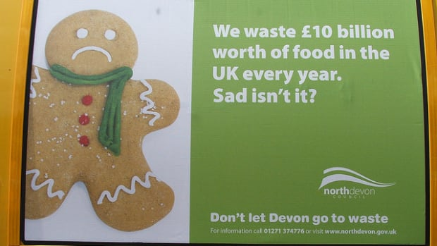 london food waste