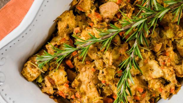 Finally! A Perfect Vegan Gluten-Free Stuffing Recipe