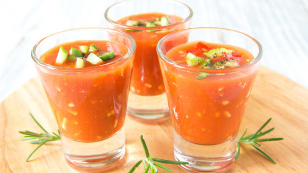 gazpacho verrine finger food recipes