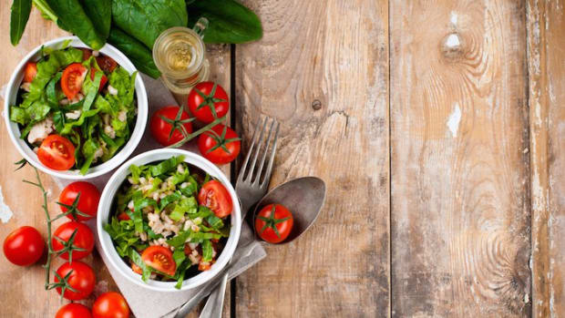 End of Summer Eats: Barley Spinach and Herb Salad Recipe