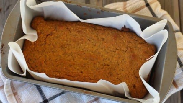 pumpkin chai paleo bread