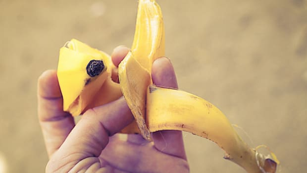 Banana peels are incredably useful food scraps.