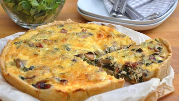 Gluten-Free Vegan Quiche Recipe with Mushrooms, Kale, and Sweet Potato: An Animal-Friendly Breakfast to Remember