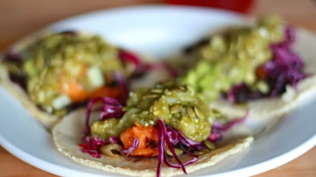 veggie taqueria taco photo