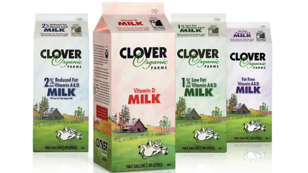 clover to produce new non-gmo milk