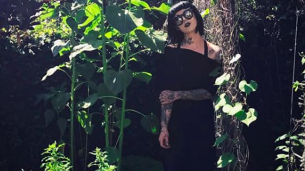 Why a Black Flower Garden Like Kat Von D's Can Be So Healing
