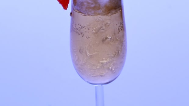 cheap champagne cocktail