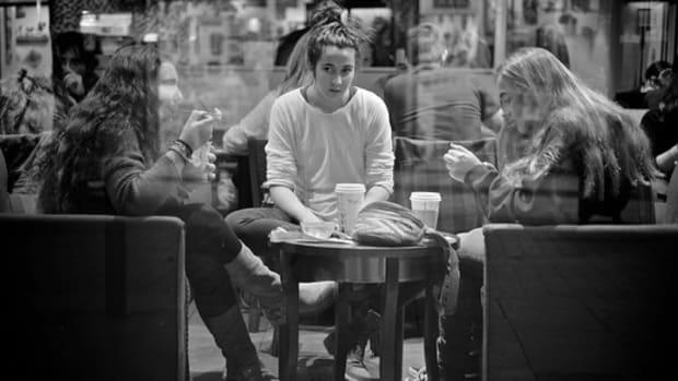 teenagers coffee