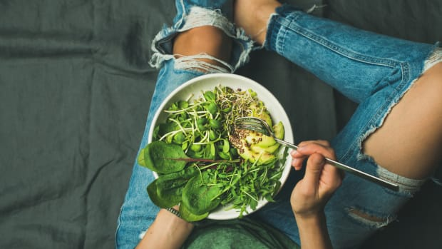 Does a Salad a Day Keep the Brain Age Away?