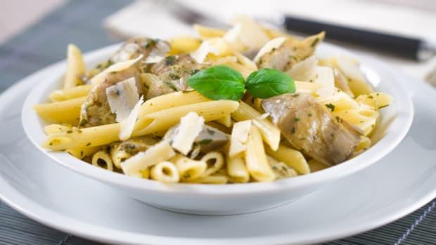 pasta with artichoke recipes