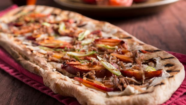 Nectarine Flat Bread Pizza