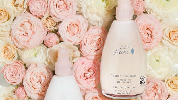 100% Pure Organic Rose Water Skincare