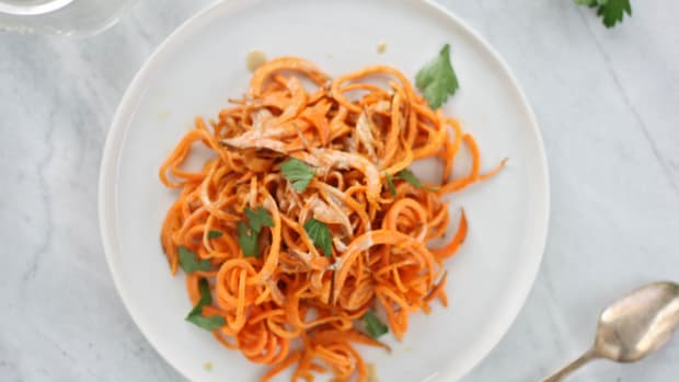 sweet potato pasta
