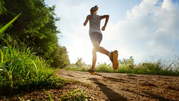 Running shoes, and moving, may help improve your brain.