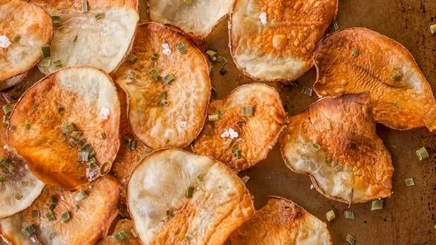 Healthy Homemade Potato Chips Recipe