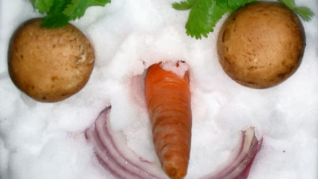 veggies snow