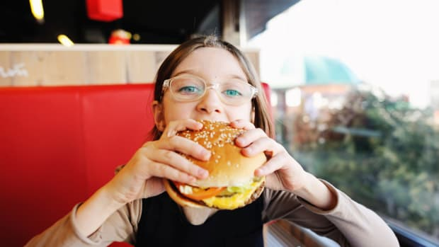 CDC Report Finds Over a Third of Kids Eat Fast Food on any Given Day