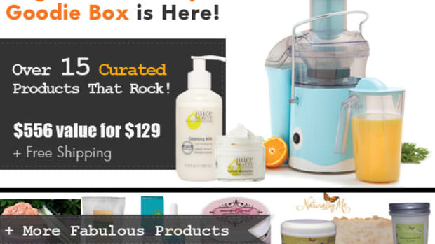 Organic Authority's January 2015 Goodie Box