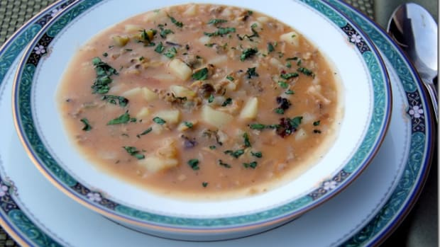 coconut clam chowder