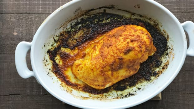 turmeric roasted chicken breasts