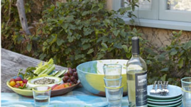 Late summer backyard barbecue tools and ideas.