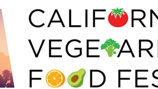 Logo for CA Vegetarian Food Festival