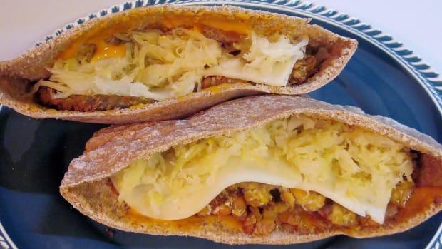 Vegetarian Tempeh Reuben Sandwich Recipe