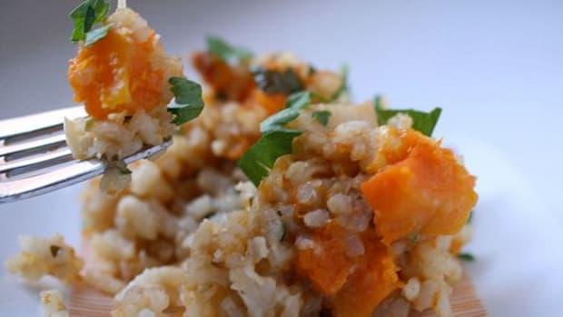 Parmesan-Acorn Squash Risotto