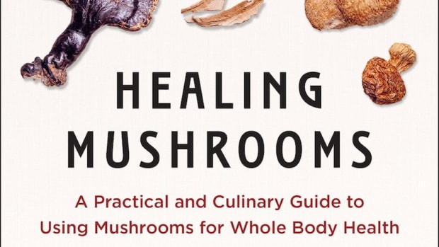 Healing Mushrooms Cookbook Launches Today