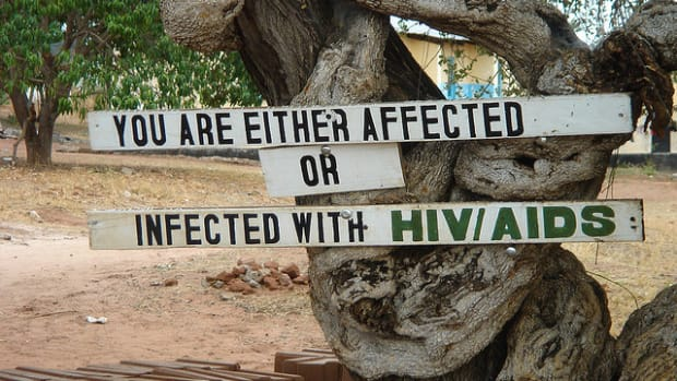 HIV, AIDS sign