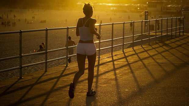 girl running photo