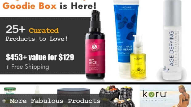Organic Authority 2015 Summer Glow Box