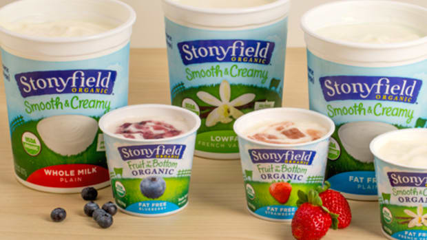 Stonyfield Yogurt to Reduce Sugar by 25% in 2017