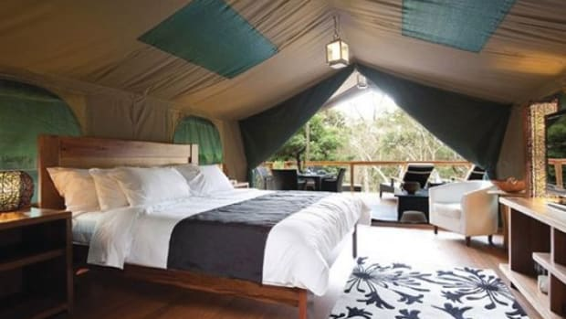 Create glamping deocr in your home.