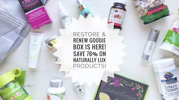 Organic Authority Restore & Renew Goodie Box