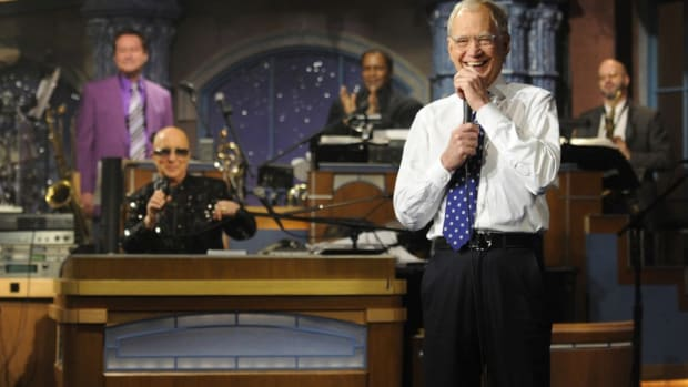 We Know Where to Find David Letterman Now: Taco Bell [Video]