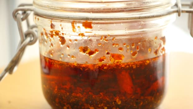 homemade chili oil