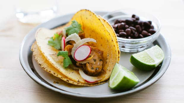 tropical foods - jamaican jerk tacos