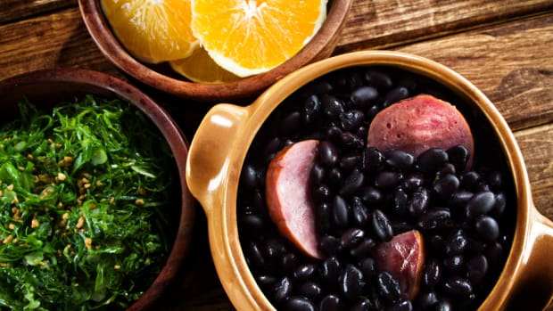 feijoada is a staple of a traditional brazilian diet
