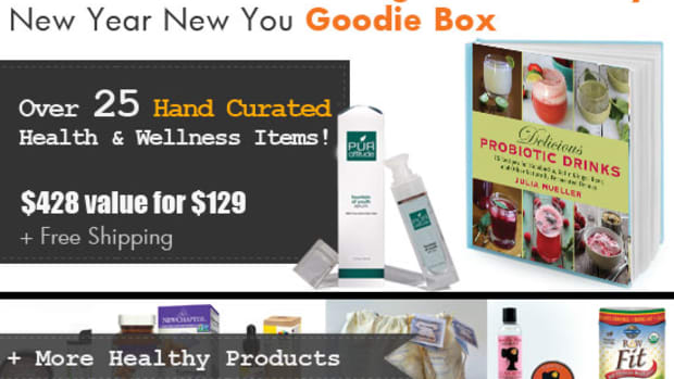 Organic Authority's New Year 2014 Goodie Box