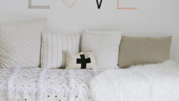 Clever ideas for decorating on a budget.