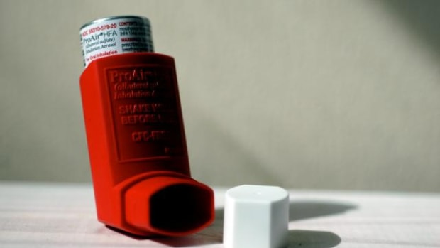 childhood asthma photo