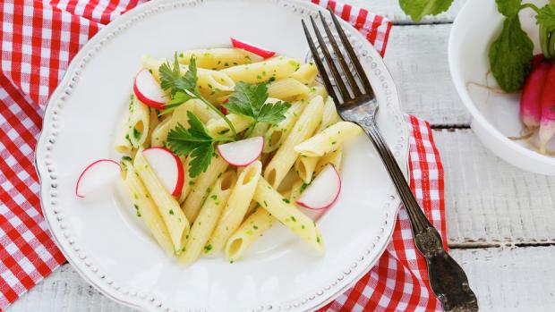 radish pasta