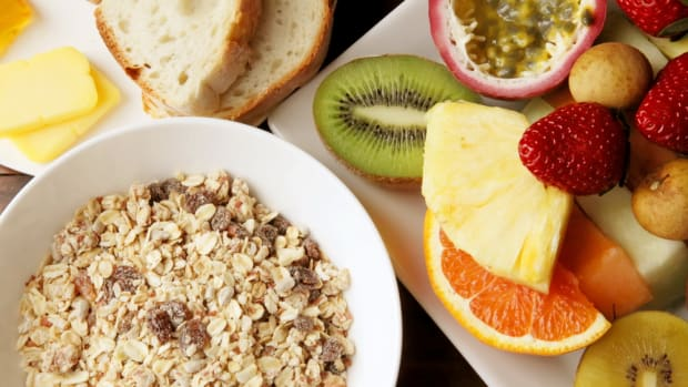Eat a high-fiber diet to keep your gut healthy.