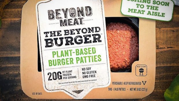You Can Find this 'Bleeding' Veggie Burger Where?!