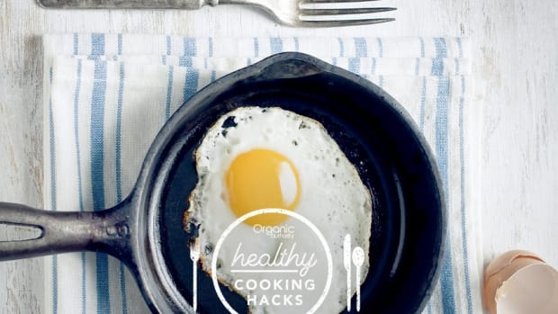 Healthy Cooking Hack Non Stick Cooking for Eggs