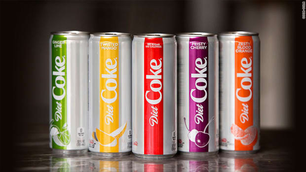 Coca-Cola Updates Diet Coke In Effort to Revive Slumping Sales