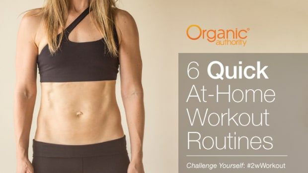 6 Quick At Home Workout Routines for Women* (VIDEOS)